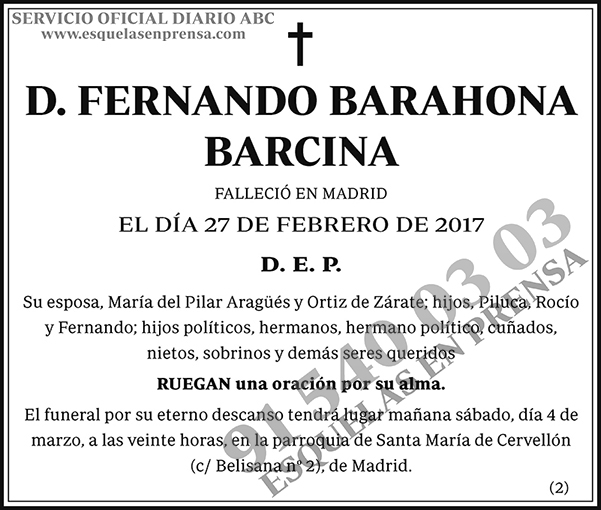 Fernando Barahona Barcina